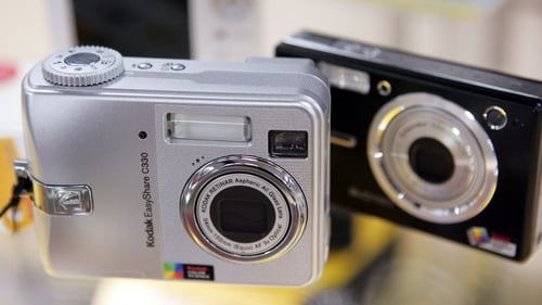 Continued drop in digital camera sales due to continued growth of smartphones