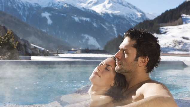 Check out the warm thermal pools