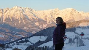 Deirdre during her trip to Bad Gastein