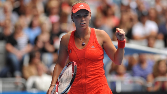 Wozniacki has impressed so far in her quest to win a maiden slam