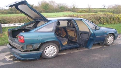 Getaway car was found