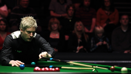 Neil Robertson is playing for a final spot against Judd Trump