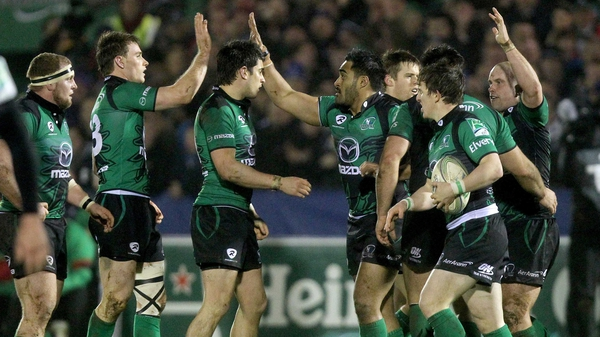 Connacht have brought to an end their 14-match losing streak