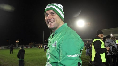 Connacht coach Eric Elwood was full of praise for his team