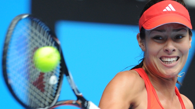 Ana Ivanovic claimed a convincing win against Sofia Arvidsson