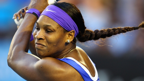 Serena Williams has not lost in Melbourne since being stunned by Jelena Jankovic in the 2008 quarter-finals