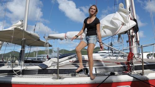 Laura Dekker began her journey on 20 January 2011