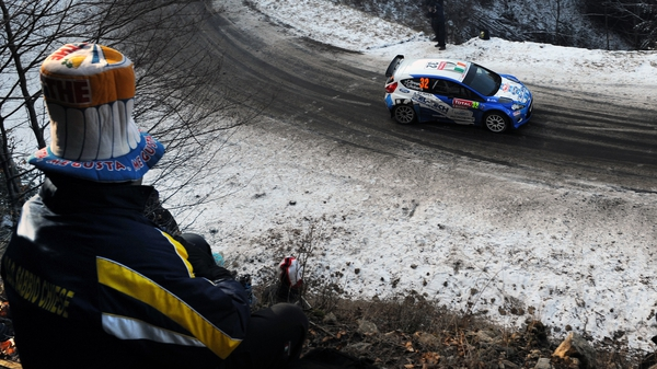 Craig Breen was the main beneficiary of PG Andersson's misfortune in Monte Carlo