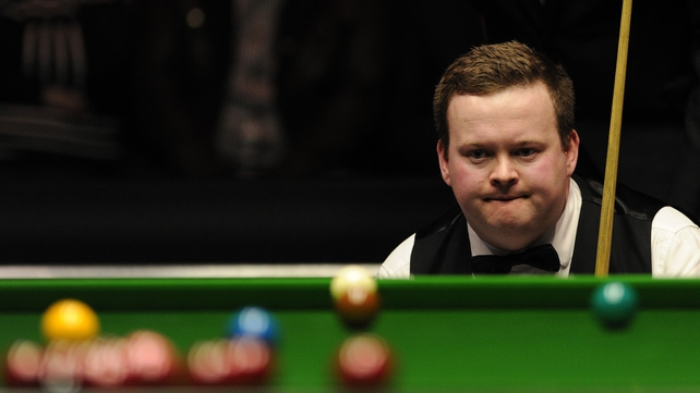 Shaun Murphy had to ride his luck to progress in York