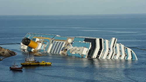 Costa Concordia was steered onto rocks off the island of Giglio