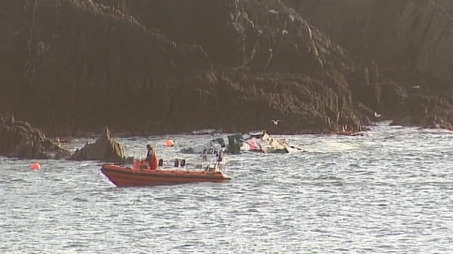 Three bodies have been recovered from Glandore Bay