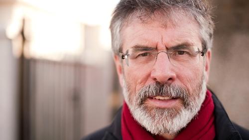 Gerry Adams has no plans to stand down as Sinn Féin leader