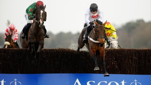 Sgt Reckless (left) may be sent to Punchestown instead of Aintree