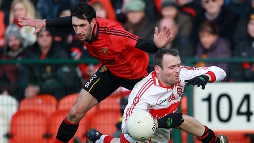 Derry held off Down's challenge to reach the final