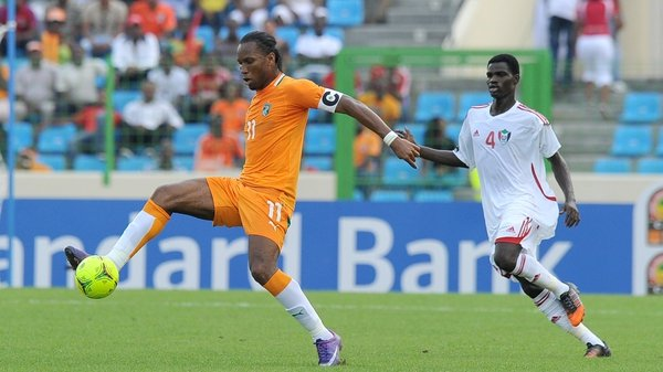Didier Drogba bagged his 51st goal for the Ivory Coast in Malabo