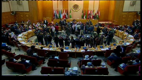 Arab League foreign ministers meet in Cairo