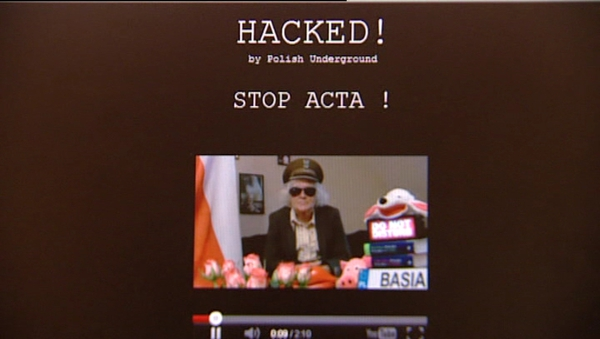 Hackers took down the Polish government website in protest