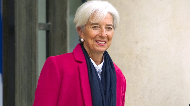 Christine Lagarde was in Frankfurt and not in her Paris flat at the time of the search