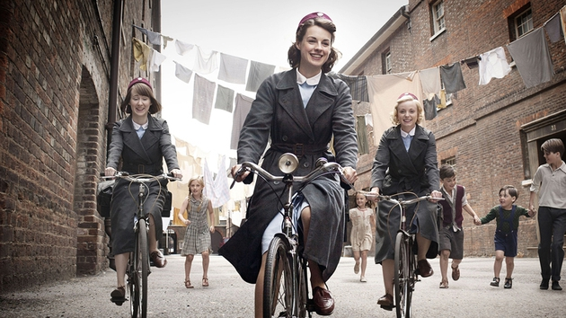Call the Midwife cycles out of sight this week