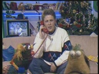 Ian Dempsey with Zig and Zag on a 'Dempsey's Den' from 1989.