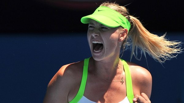 Maria Sharapova landed her only Australian Open in 2008