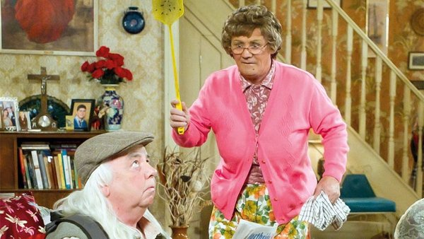 Brendan O'Carroll has added a Scottish BAFTA to this year's awards for Mrs Brown's Boys
