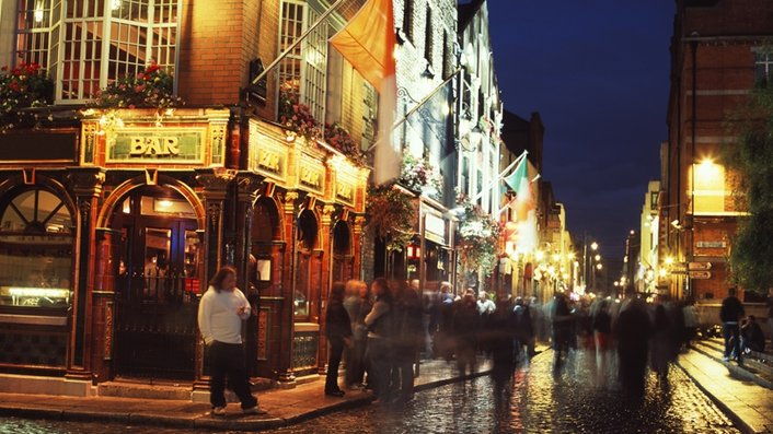 Private security guards to restrict access to Temple Bar