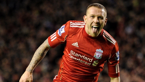 Craig Bellamy's equaliser sent Liverpool into the Carling Cup final on aggregate