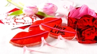 Hot Lips Cookies - A delicious treat for Valentine's Day