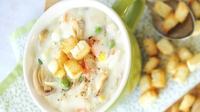 New England Clam Chowder - Make a tasty and fulfilling chowder