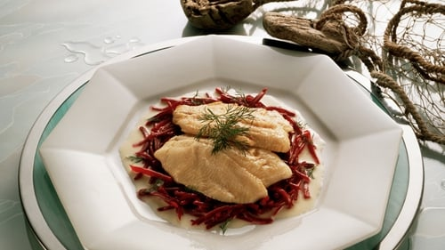 Richard Corrigan's Brown Trout with German-style Potato Salad