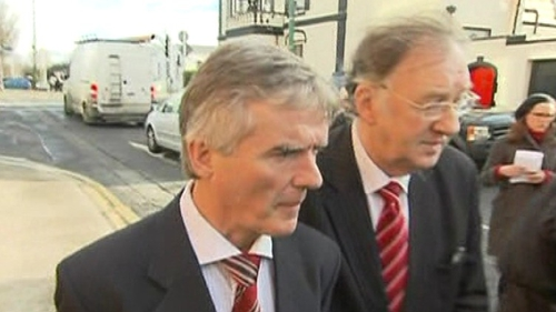 Mr Callely was fined €60 for using a mobile phone while driving in 2011