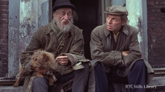David Kelly and Brendan Cauldwell in 'Strumpet City' (1979) © RTÉ Stills Library 2002/070