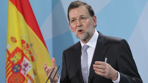 Mariano Rajoy said Spain had seen clear change in its economic situation
