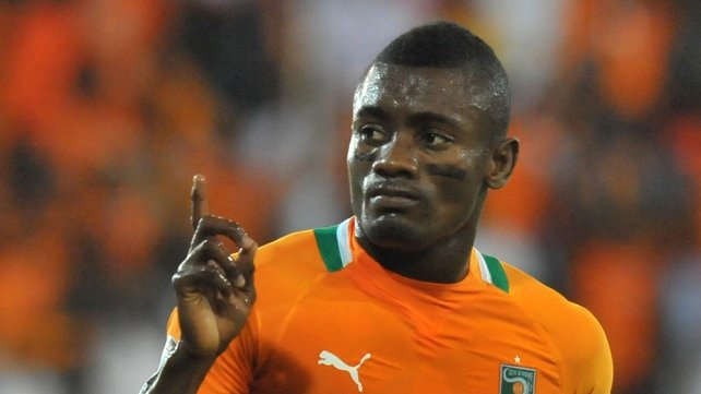 Chelsea's Salomon Kalou put the Ivory Coast on the road to victory with a well taken goal after 16 minutes
