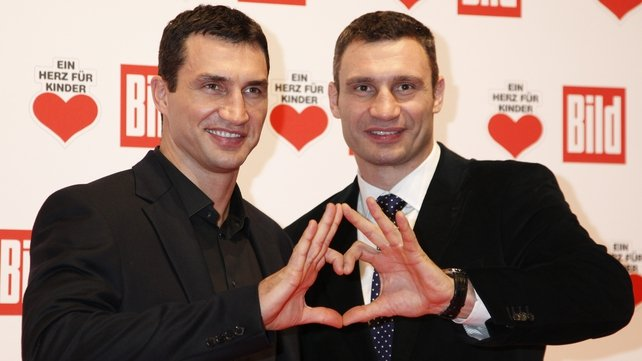 Vladimir and Vitali Klitschko dominate the heavyweight decision