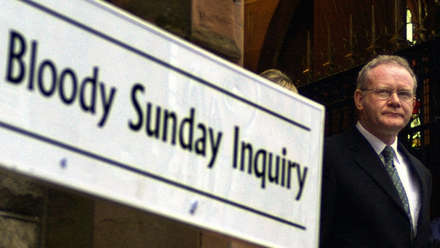martin mcguinness gave evidence to the inquiry