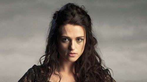 Katie McGrath plays Morgana on Merlin