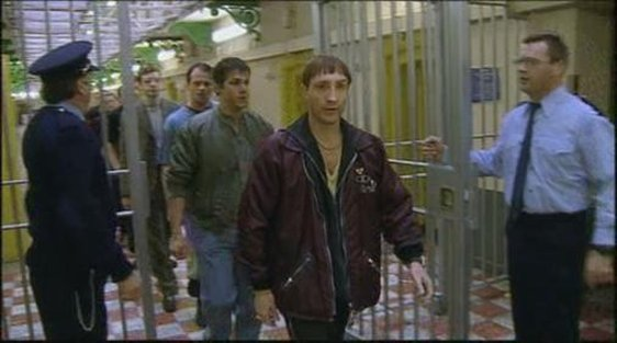 """Rats"" Raymond Doyle played by Michael McElhatton leaves prison in part one of 'Paths to Freedom'."