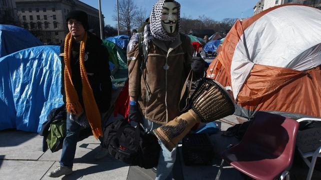 Washington Occupy protesters face eviction deadline