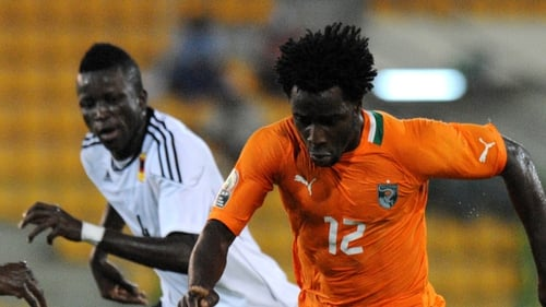 Ivory Coast finished top of Group B after beating Angola