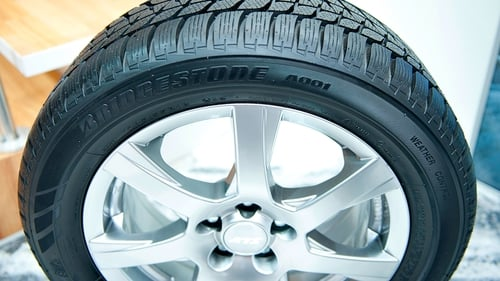 The report says tyre wear pollution is unregulated.