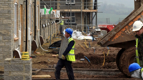 Ulster Bank construction Purchasing Managers' Index stood at 60.2 in May