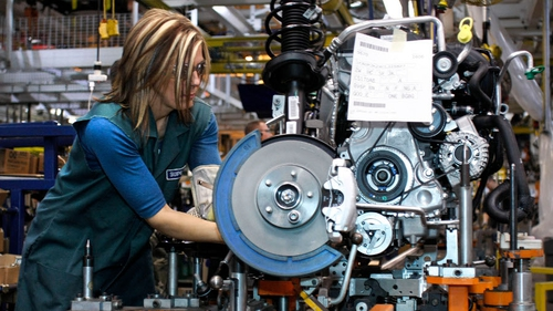 Markit's euro zone Manufacturing Purchasing Managers' Index rose to 53.4 last month from March's 53