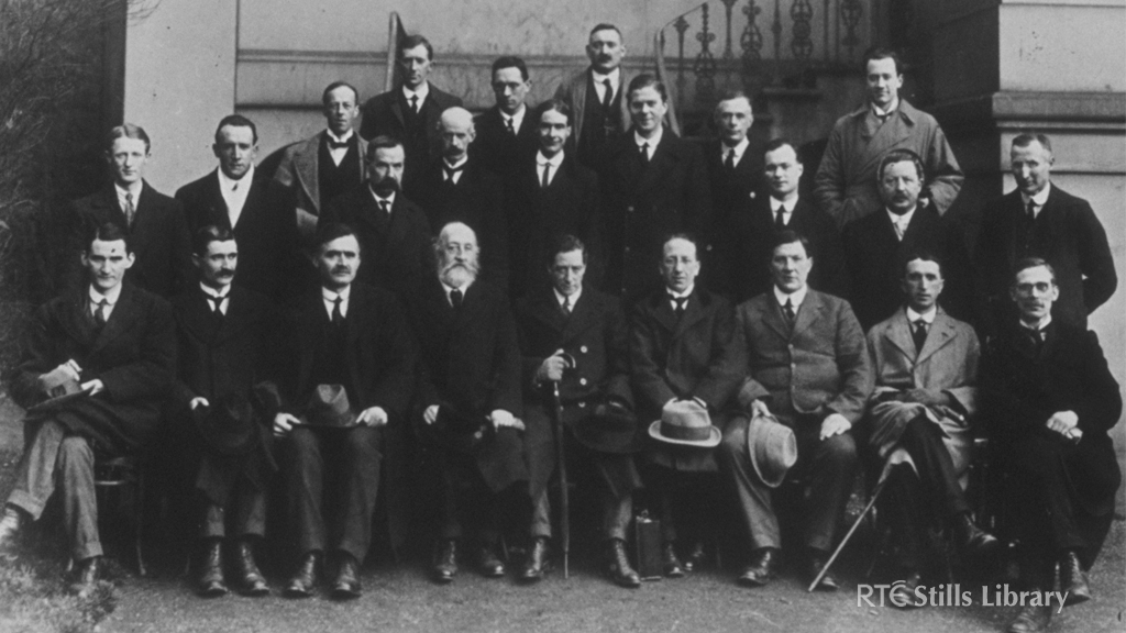 Members of the First Dáil (1919)  © RTÉ Stills Library  0207/009