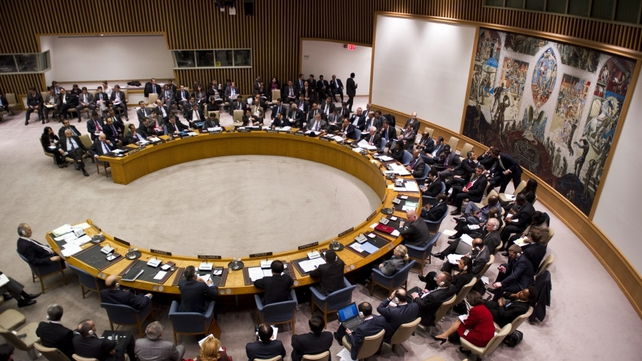The fifth resolution, adopted aims to boost humanitarian access in Syria
