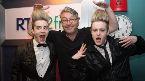 Jedward and Hayes - Teaming up in aid of the ISPCC