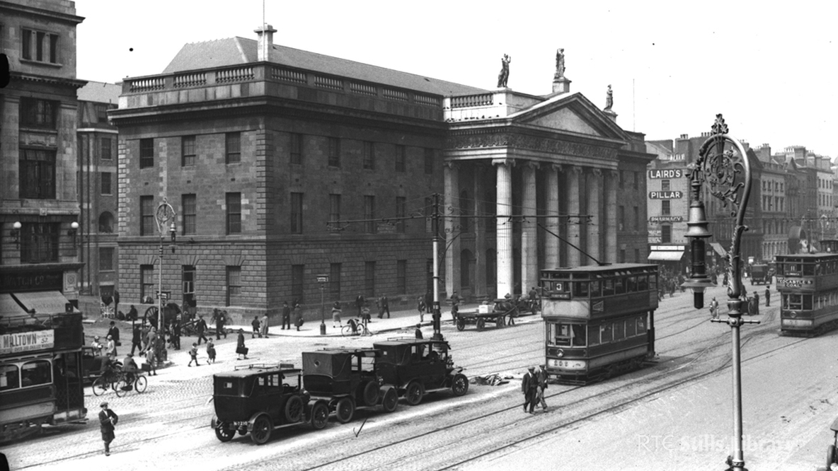 General Post Office (1920) © RTÉ Stills Library 0510/071