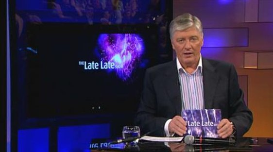 Pat Kenny announces on air that he will be standing down as presenter of 'The Late Late Show'.