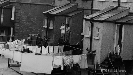 Public Housing Dublin City (1972) © RTÉ Stills Library 2258-016